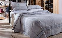 Colcha Patchwork - Queen Size - Dupla Face - C/ Porta Travesseiros - Bristol 3 - Rozac