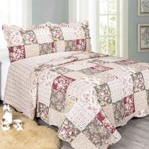 Colcha Queen Evolution Patchwork Kratos 240 X 260Cm Camesa