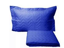 Colcha Sleep Solteiro 2 Peças Azul Royal - A PRODUTIVA