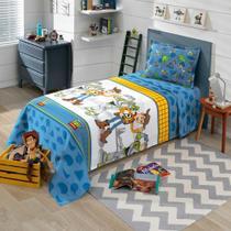 Colcha Solteiro Infantil Piquet Toy Story 01 - Dohler -