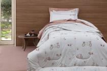 Colcha Solteiro Sleep Vida Bela 2 PC Ayla Kacyumara -