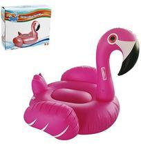 Colchao Inflavel Flamingo Com Alca 140X132Cm Summer Fun Na Caixa - Wellmix