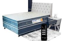 Colchão Luxo Pillow Duplo Ortopédico Magnético Infra Vermelho Longo Massageador Bioquantico 138x188 30cm 2 Travesseiros Terapêutico Brinde - Vital Martins