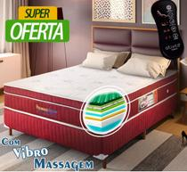 Colchão Magnético King Size Privilege Dream com Vibro Massageador 1,93x2,03x28 - Gold Dream - Golddream