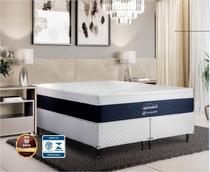 Colchão Magnético Oriental Medic Casal Excellence Europillow Azul - 30cm de Altura -