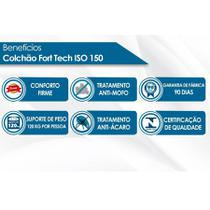 Colchão Ortobom D45 Fort Tech ISO 150 28cm Viúvo 108 -