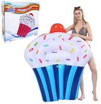 Colchao / prancha inflavel cupcake 145x90cm - Wellmix