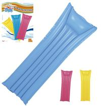 Colchao Prancha Inflavel Liso Colors 183X69Cm Summer Fun - Wellmix