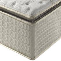 Colchão Queen Size Anjos Confiance Visco 158x198cm 1 Pillow Top -