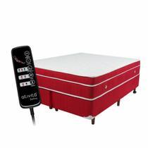 Colchão queen size magnético massageador bio quântico e base box - Soft Premium