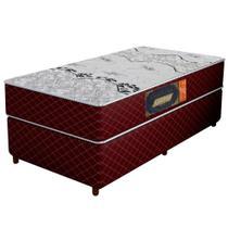 Colchão Solteiro Confort Soft Gazin Vinho 111789 14x88x188 -