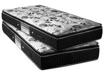 Colchão Solteiro Mola 88x188cm - Mannes Diamond Black