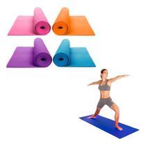Colchonete Tapetes para Yoga / Pilates - 1,73 x 0,61 Roxo - Shopud