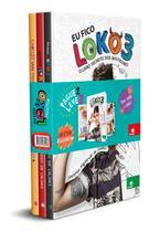 Coleção 3 Livros Eu Fico Loko 1, 2, 3  Christian Figueiredo - Novas Páginas