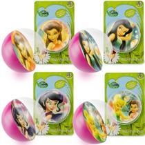 Coleção 4 Bolinhas Maciças Importadas Tinker Bell Fadas Disney - Dtc