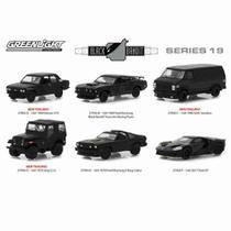 Coleção 6 Carros Black Bandit Series 19 1:64 Greenlight -