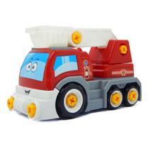 Coleção Big X Truck - Bombeiro Homeplay -