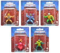Coleção c/ 5 Mini Figuras He-Man Masters of the Universe - Mattel -