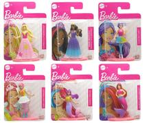 Coleção c/ 6 Mini Figuras Barbie Dreamtopia - Mattel -
