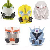 Coleção Com 5 Miniaturas Transformers Mashems Dtc Promoção -