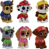 Coleção com 6 Mini Boos Patrulha Canina - DTC 4669 -