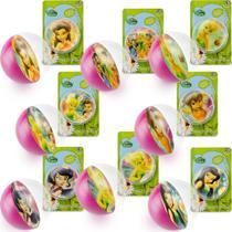 Coleção Completa 8 Bolinhas Maciças Importadas Fadas Disney - Dtc