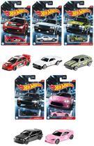 Coleção Completa com 5 Miniaturas Cult Racers - 1/64 - Hot Wheels 2021 - Mattel