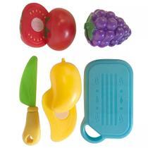 Coleção Infantil Food Truck Com Frutas 8 Peças Buba 8282 - Uva -