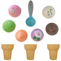 Coleção Infantil Food Truck Ice Cream 10 Peças Buba 8285 -