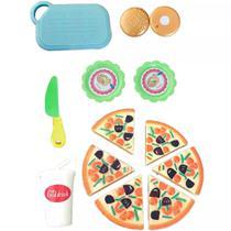 Coleção Infantil Food Truck Toys Pizza C/ 13 Peças Buba 8287 -