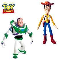 Coleção Kit boneco Woody + Boneco Buzz Lughtdear VINIL - Lider