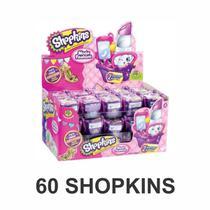 Coleção Kit Shopkins Moda Fashion Butique Com 30 Cestinha 60 Shopkins - Dtc