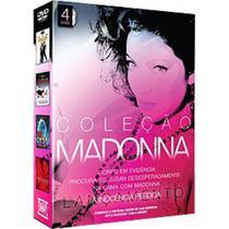Coleção madonna - 4 dvds - Dolby