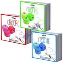Coleção Manequim Guia Completo Do Crochê Em 3 Volumes - Escala -