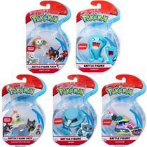 Coleção Pokémon Battle Figure Boneco De Batalha 7 Figuras - Dtc