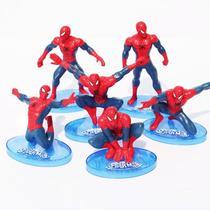 Coleção Spiderman Homem aranha kit com 6 unidades action figures - Marvel