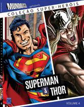 Colecao super-herois 4 - superman e thor - Europa -