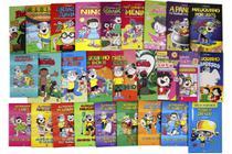 Coleção Tesouro do Ziraldo -  26 livros de história em quadrinho + 1 guia do professor - Editora Globo -