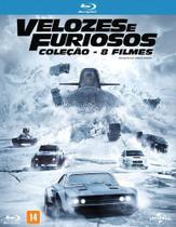Coleção Velozes e Furiosos 1-8 (Blu-Ray) - Universal pictures