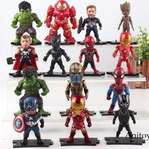 Coleção Vingadores kit com 6 unidades The Avengers Marvel -