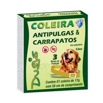 Coleira Anti-Pulga/Carrapato Dug's - Com 12 Unidades - World
