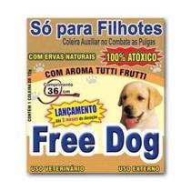 Coleira Anti Pulgas Free Dog Filhotes -