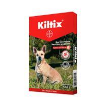 Coleira anti pulgas kiltix pequena 35 cm - bayer -