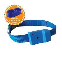 Coleira AntiLatido Smart Plus 2 Azul, Brinde Comedouro Duplo m/g 2000ml - Amicus