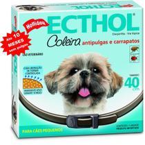 Coleira Antipulgas E Carrapatos Hollyday Para Cães-10 meses - Holliday