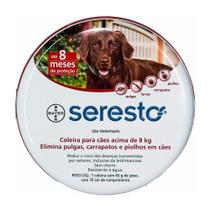 Coleira Seresto G 45g Pulgas Leishmaniose - Bayer