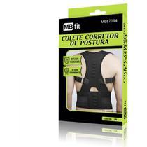 Colete corretor de postura magnetico ajustavel cervical modelador cinta coluna ajustavel ergonomico - Gimp