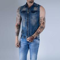 Colete masculino - Pit bull jeans
