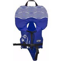 Colete Salva-vidas Infantil Ativa Baby Homologado Pela Marinha Azul Classe V Até 25kg -