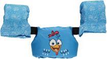 Colete Salva-Vidas Infantil Ativa Kids Galinha Pintadinha Homologado Azul Classe V Até 25 Kg - Ativa náutica
